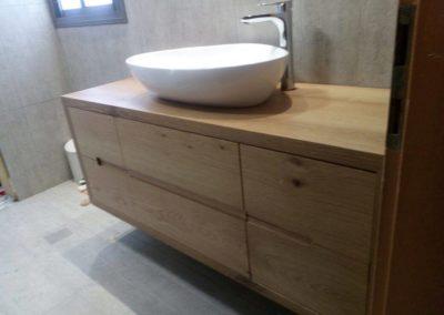 ארון אמבטיה דגם יפני